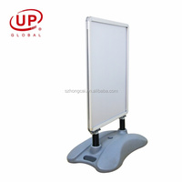 Water base Poster Board Aluminum Frame Double Sided Snap Frames Stand Display