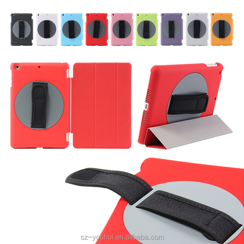 High Quality Patent Item 360 Degree Rotating Flip Cover Smart Magnetic Case for iPad mini 1/2/3/4
