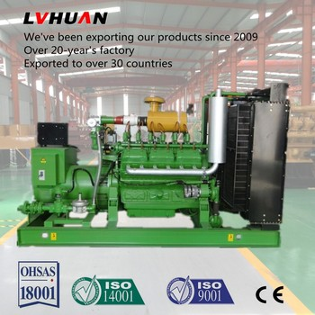 Biogas generator gas set 250KW with 12V138 engine Biogas project good Control System