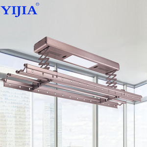 commercial grade durable folding electric ceiling automatic aluminium clothes drying rack