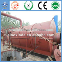 Best Quality&Best Price scrap tyre recycling machine to fuel oil