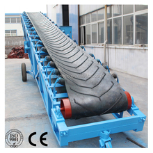 Rubber PVC Mobile Belt Conveyor Machine for Rice Mill