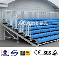 Scaffod metal grandstand dismountable for different races