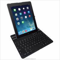 Hot Sale Folding Holder Bluetooth Interface Type Keyboard Logo Customize for iPad 2 / 3 / 4