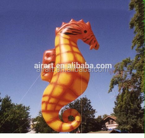 inflatable seahorse stage decoration outdoor advertising