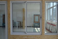 Good Design aluminium windows with tempered glass with great price