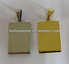 gold and silver jewelry tag custom engraved jewelry tag in stainless steel