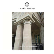 gate decorative white carved marble stone roman pillars and column