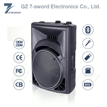 180w 15 inch AUX input/USB/SD function loud 15 inch trolley speaker with hindi new mp3 songs download 2016