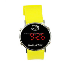 Hello kitty LED watch silicone watch for children