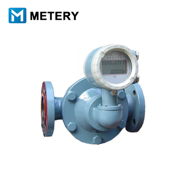 4-20mA analog output Oval gear Flowmeter