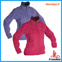 Lady microfleece jacket,cheap fleece jacket