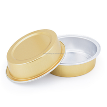 15ml small size breads baking mould egg tart cup with cover with aluminum foil heat sealed baking cup