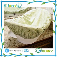 Green Color and Anti-slip Baby Bath Tub Fitted Sheet