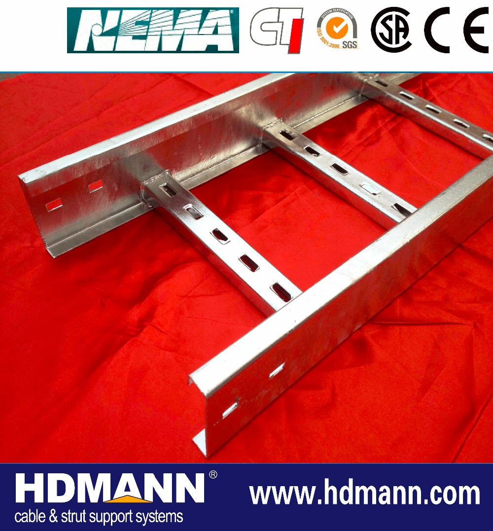 colored metal optical ladder type cable tray
