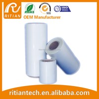 Jumbo roll plastic film PE/PET transparent film