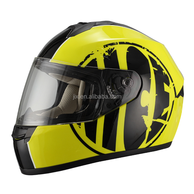 2015 JIX - FF006 capacete moto decal casque moto cheap full face mask helmet