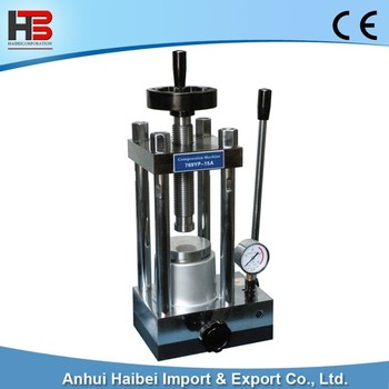 HB-YLJ-15T 15T manual press machine powder tablet press