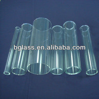 high borosilicate glass tube with different size