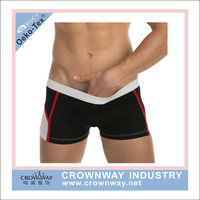 Sexy Mens Light Weight Cotton Boxer Shorts Underwear With Custom Logo