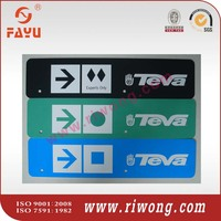 road sign number plate/danger plate with making machines