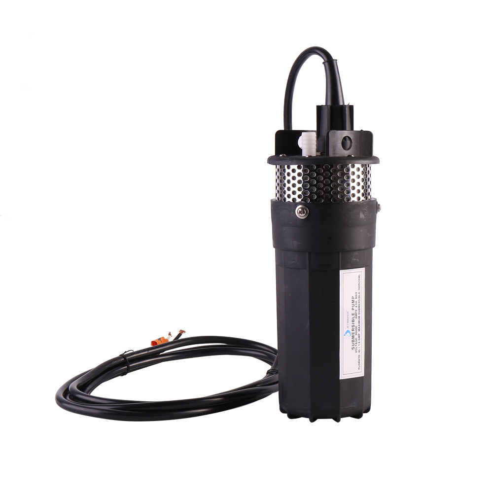 Jetmaker YM1240-30 12V DC Solar submersible Water Pump System Black Color
