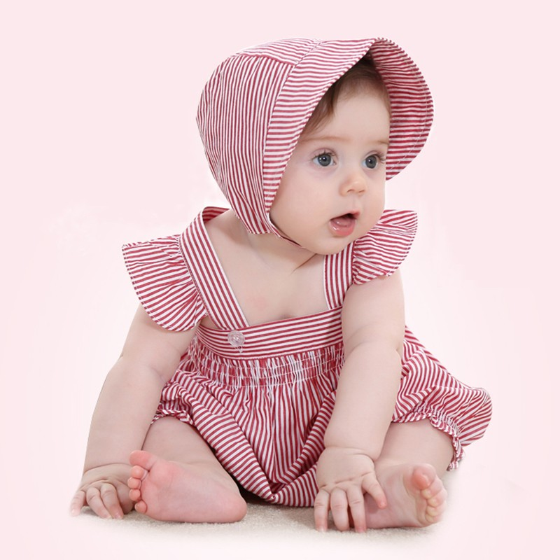 Top Quality Customized Plain White Baby Romper