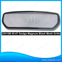 perfect matching with 2005-2007 Dodge Magnum Except SRT8 Main Upper Black Wire Mesh car Grille