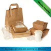 new design food grade disposable papaer salad boxes food container