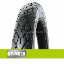 High quality airless motorcycle tire 2.75-17 motorcycle tire 90/90-17