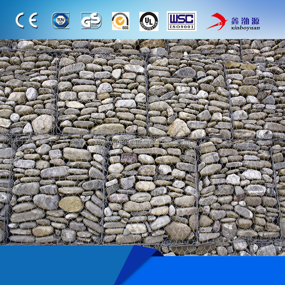 2016 manufacturer selling stock firm steel mesh gabions wire mats cage