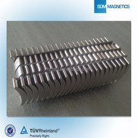2014 Hotselling Customized Strong Neodymium Arc Magnets For Motor