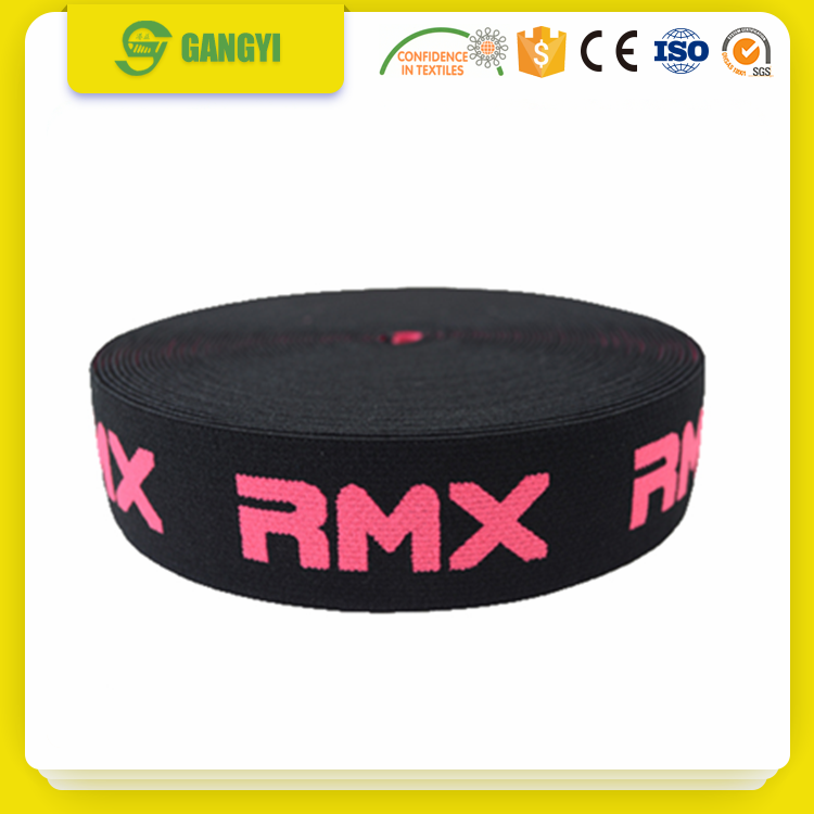 Jacquard Elastic Band exercise bands webbing
