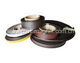 flexible magnetic strip,magnetic strip,steel tape,12.5mm*1.5mm,0.18mm,white paint,rubber magnet