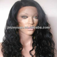 Wholesale indian remy hair lace front wig