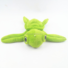 wholesale green color 20cm big eyes stuffed plush toy sea turtle