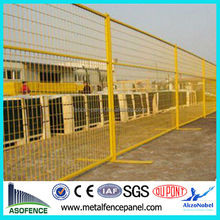 canada standard pvc coated high quality ISO certificated temporary fence retractable temporary fence