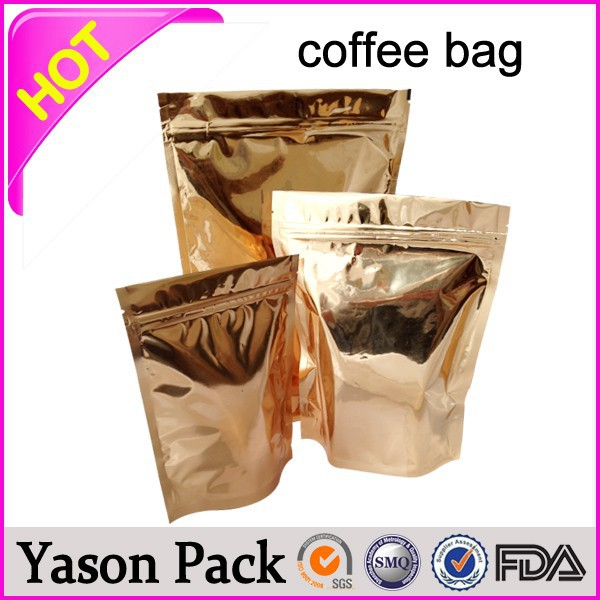 Yason jelly packaging film transparent bag with logo printed & spout aluminum foil bags for skincare expert