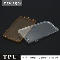 stylish mobile phone back cover TPU case 0.7mm phone cover