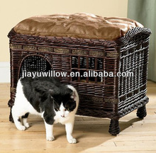 Eco-friendly rattan handicrafts cat house