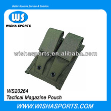 Molle military 9mm Pistol Magazine double Pouch