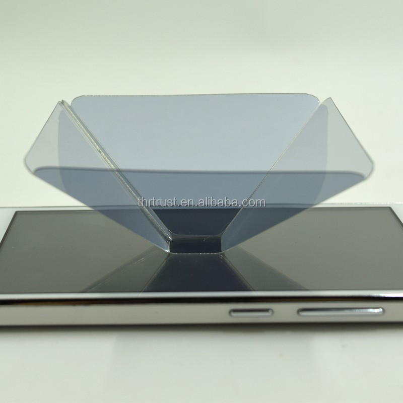 New Product pyramid 3d hologram display
