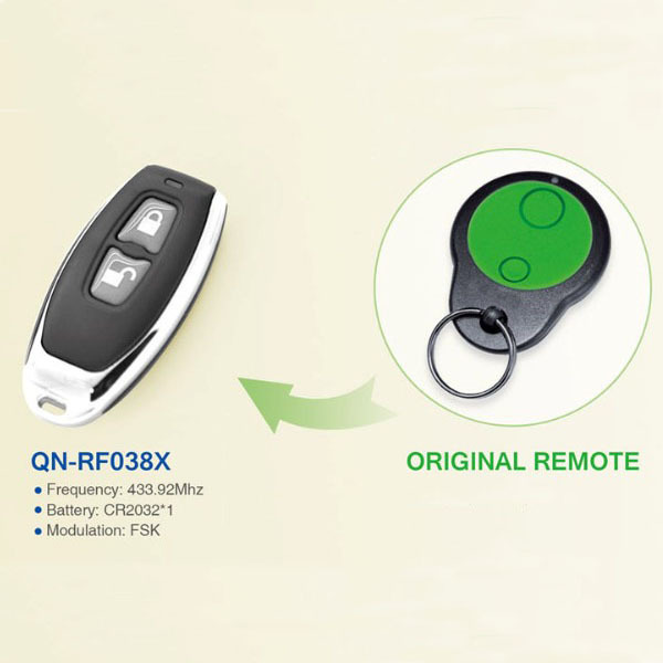 Hot Compatible with Merlin Garage Door Remote Control QN-RF038X