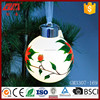 China factory wholesale lighted christmas glass hanging ball crafts