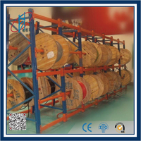 Cable Reel Storage Rack for Warehouse Storage