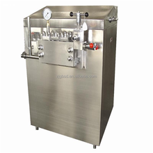 High pressure homogenizer for fruit juice or milk processing plant