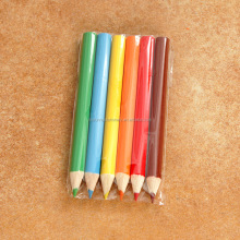 2018 Multi Colored Lead Pencil With Wood Box Customize Color Short Colored Pencil Set For Kids