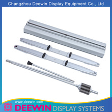 Portable Double Sided Roll Up Banner With Stainless Steel Spring Support