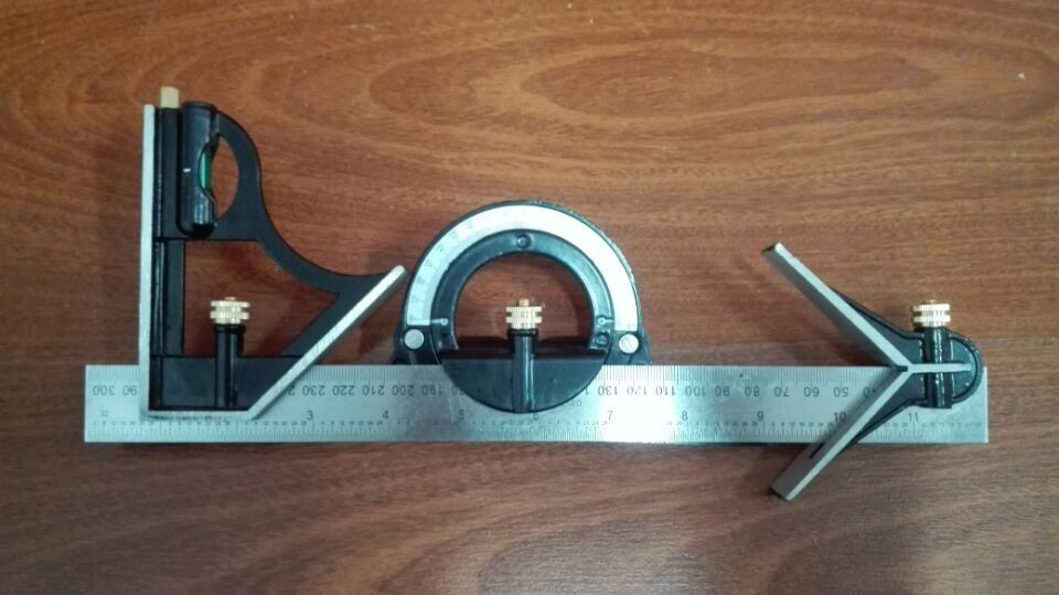 multi function removable angle ruler