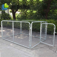 Price list of carry wire galvanized chain link dog cage